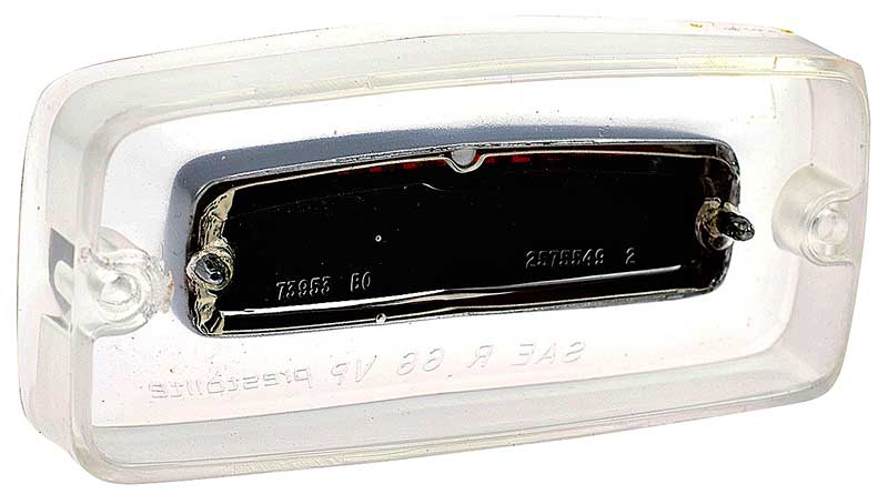 1966 Barracuda - Middle Back-up Lamp Lens