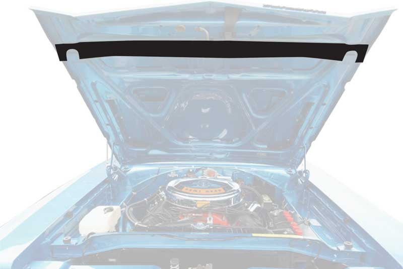 1968-69 Mopar B-Body Hood To Radiator Seal