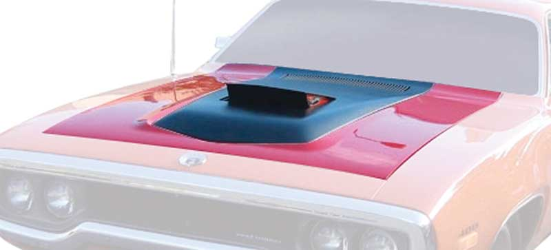 All Makes All Models Parts | MB1692 | 1971-72 Plymouth Road Runner Air  Grabber Hood Bubble And Door | Classic Industries