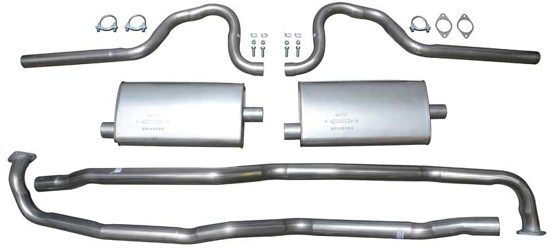 1970 Mopar B-Body W/440 V8 Exhaust System For Use With Exhaust Tips