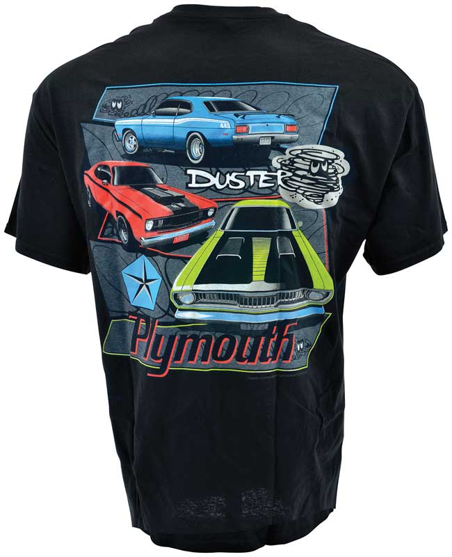 Plymouth Duster T-shirt XL