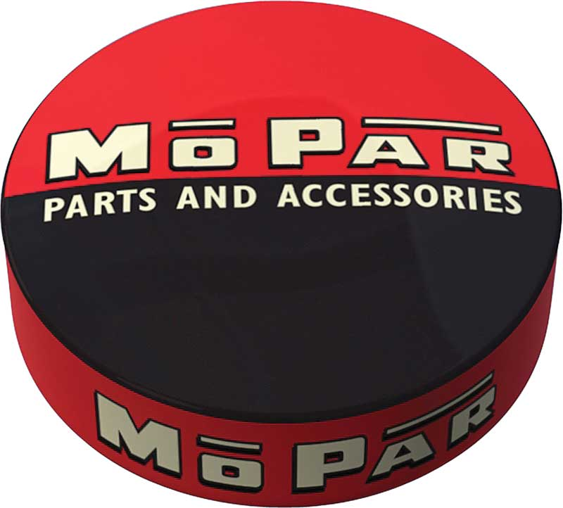 1948-53 Black/Red Mopar parts And accessories Logo Counter Stool