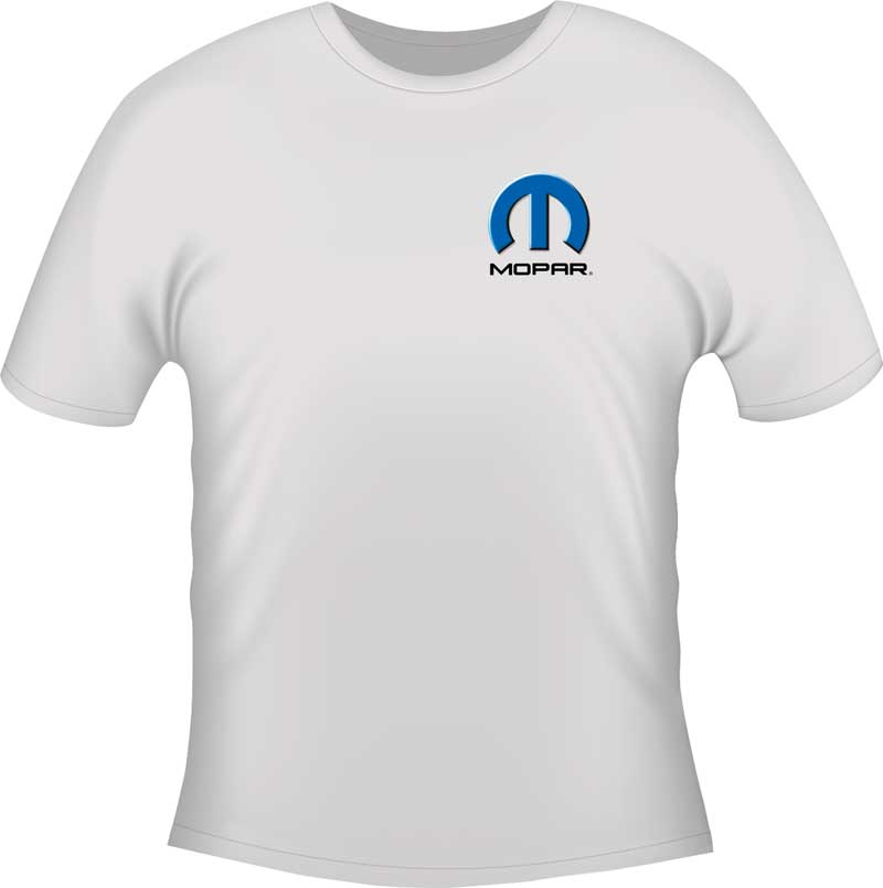 Mopar Challenger City Lights X-Large White T-Shirt