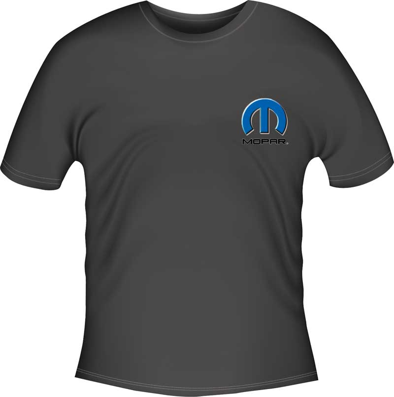 Mopar Hemi Powered Charger Small Black T-Shirt