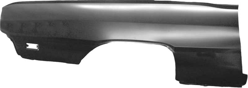 1969 Dodge Dart Restorers Choice™ Quarter Panel Skin; RH