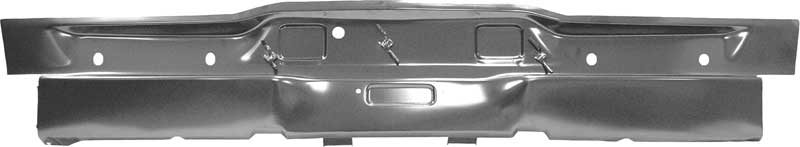 1968 Dodge Charger Rear Valance Panel Without Lamp Holes