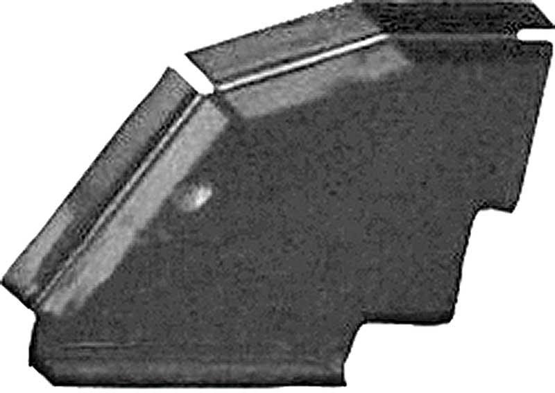 1968-70 Mopar B-Body Rear Cross Rail Extension; LH