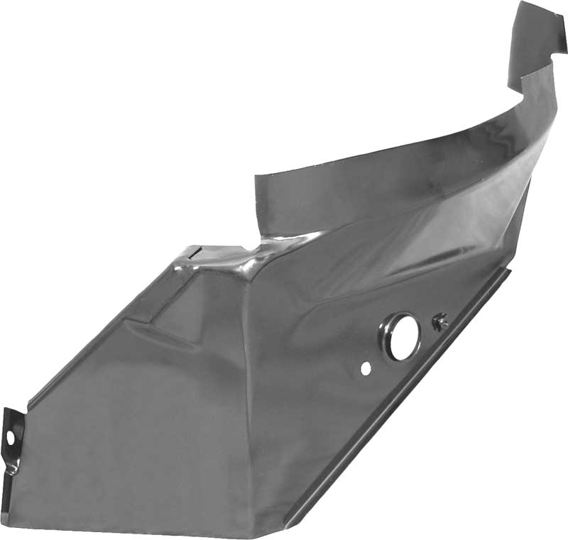 1971-72 Plymouth B-Body Quarter Panel Inner Reinforcement; RH