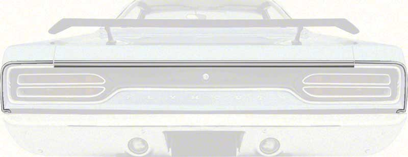 1970 PLYMOUTH GTX 3 PIECE TAIL MOLDING SET