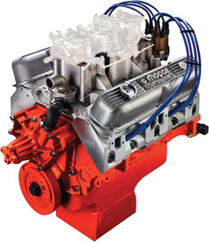 Mopar Performance 340 Six-Pack 330 HP Crate Engine