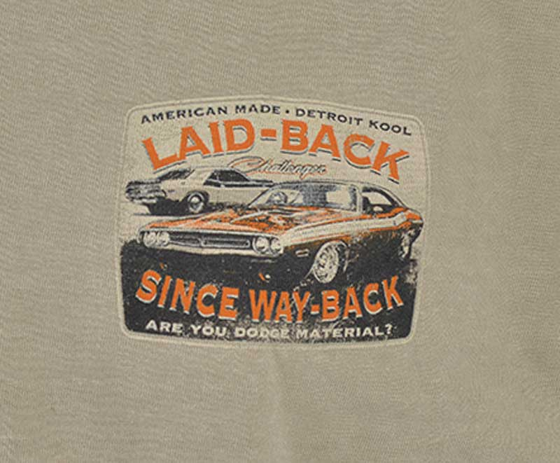 Laid Back Stockman '71 Challenger T-shirt - Large