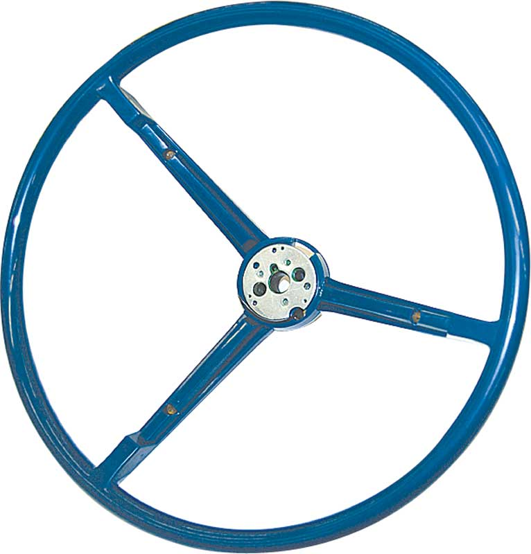 1967-69 Mopar Steering Wheel; Blue ; A, B, C Body