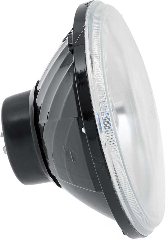 7 Round Diamond Cut Headlamp for 2 Headlamp Systems