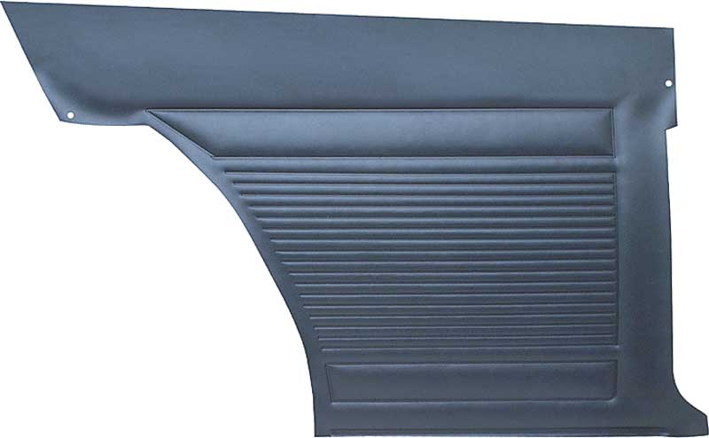 1971-72 Nova 2 Door Standard Rear Inner Side Panels (Dark Blue)