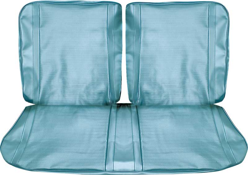1967 Chevy II / Nova Sport Coupe With Split Front Bench Complete Upholstery Set (Light Blue)