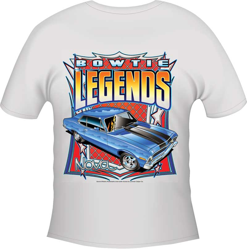 Nova Bow Tie Legends T-shirt - Black - Xxx-Large
