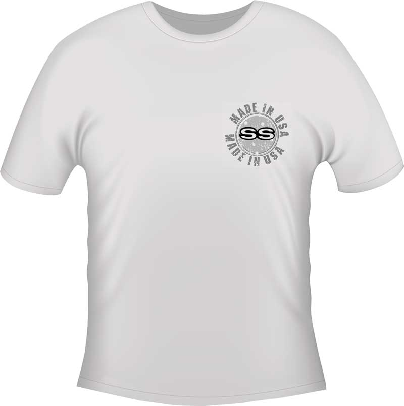 Nova Made In USA T-shirt - White - Small