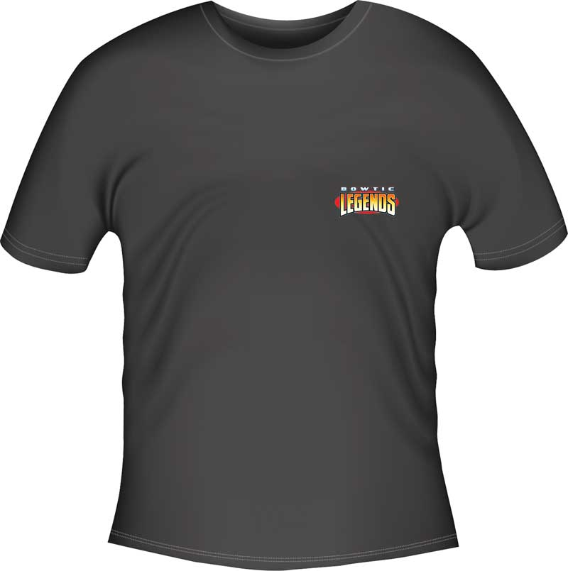 Nova Bow Tie Legends T-shirt - Black - Small
