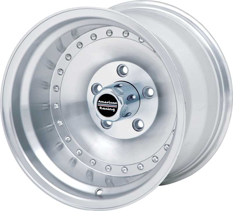 15 X 10 American Racing 1 Piece Outlaw Wheel With 5 4 3