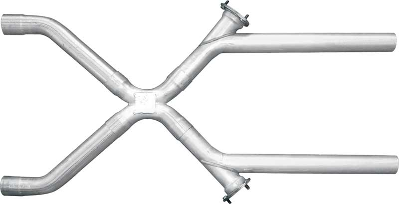 Pypes 14 T304 Polished Stainless Steel Race Pro Muffler With 2-1/2 Offset Inlet / Offset Outlet
