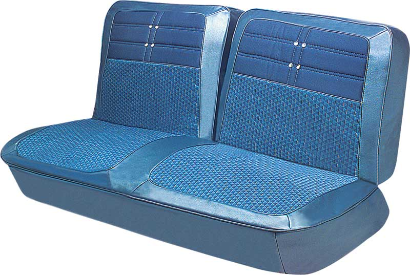 1963 Impala 2 Door Hardtop Medium Blue Vinyl Upholstery Set