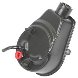 1973-74 6-Cylinder Remanufactured Power Steering Pump with A-Style Reservoir