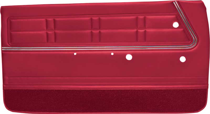 1967 Impala / SS 2 Door Coupe \u0026 Convertible Red Non-Assembled Front Door Panels  sc 1 st  Classic Industries & 1967 Chevrolet Impala Parts | P67202 | 1967 Impala / SS 2 Door Coupe ...