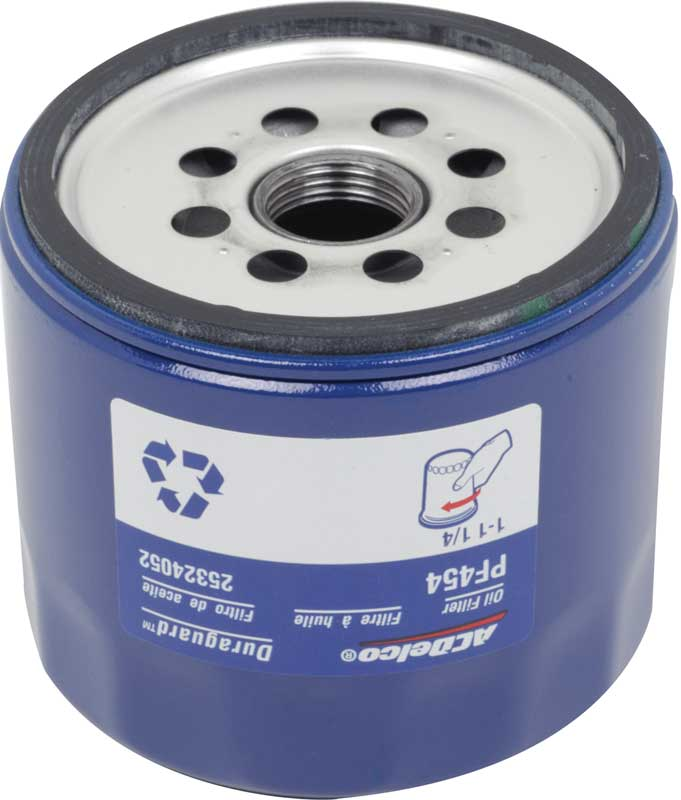 Chevrolet L6 or Small Block V8 AC Delco Oil Filter (Short Version)