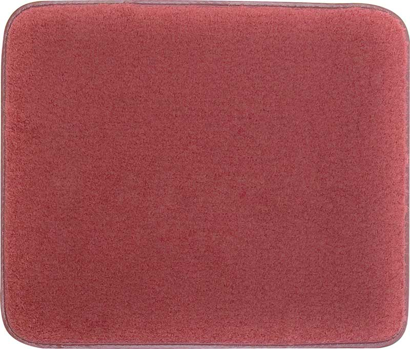 1974-90 Impala Maroon Cut Pile Floor Mat Set With Black Impala Script Logo