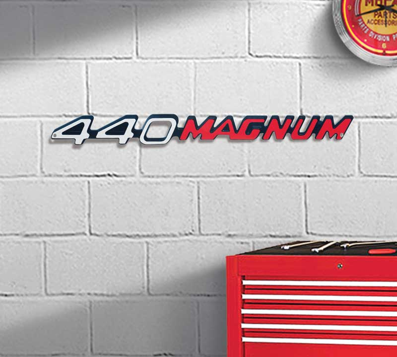 20 X 2 440 Magnum Metal Sign