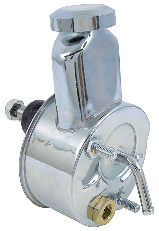 1967-68Cpp Power Steering Pump Small Block (Chrome)