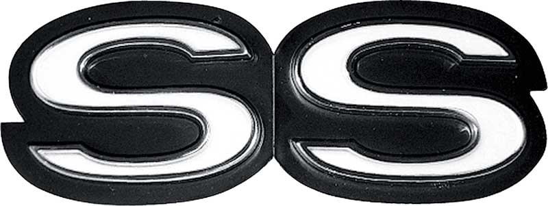 25 X 19 Black Finish SS Crossed Pistons Metal Sign