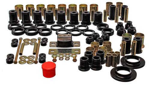 1978-87 Buick Regal - Hyper-Flex Poly Bushing Set - Black