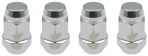 Mcgard Lug Nuts; M12 x 1.5 Thread Size; 3/4 Hex Size; Set Of 4; Chrome