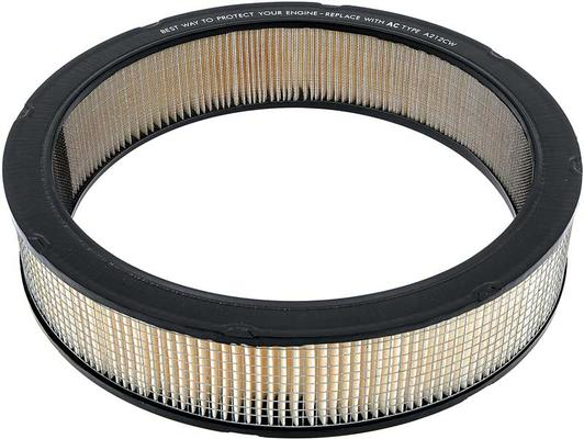 1965-74 GM; Air Cleaner Filter; Square Mesh; with Correct Markings; A212CW; GM Licensed
