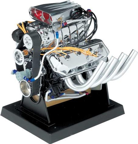 Die Cast Hemi Top Fuel Dragster Engine