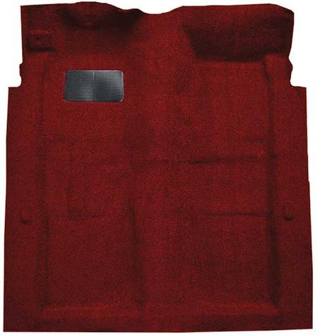 1974-78 Galaxie 500/LTD 2-Door - Molded Cutpile Carpet Kit - Oxblood