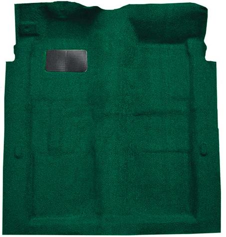 1974-78 Galaxie 500/LTD 2-Door - Molded Cutpile Carpet Kit - Jade Green