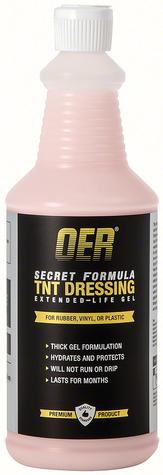 OER® Secret Formula 32 Oz TNT Gel Extended Life VRT Dressing Vinyl Rubber Tire
