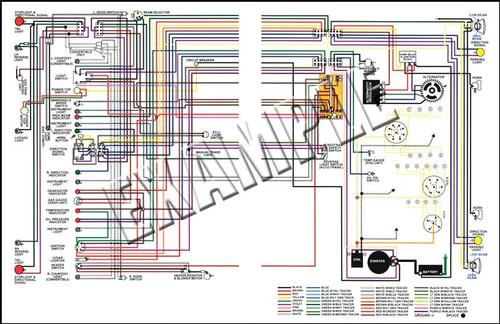 1965 Plymouth Parts | ML13074A | 1965 Plymouth Fury Color Wiring | 1965 Plymouth Wiring Diagram |  | Classic Industries