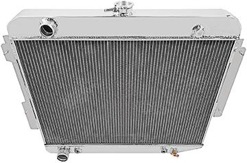 1966-69 Mopar B-Body V8 - Aluminum Radiator (3-Row) - 17-1/2 X 26 X 2-1/8 Core