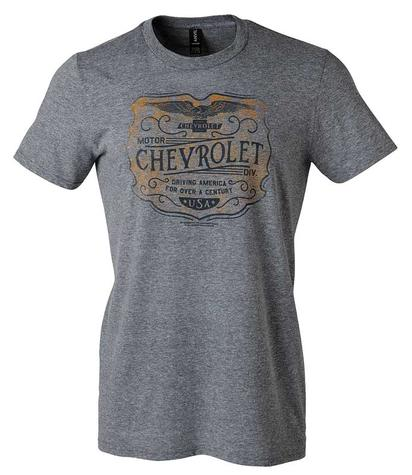 Chevrolet Shoppe T-Shirt - Graphite Gray - Large