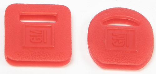 OEM Key Covers Ignition/Trunk (Red)