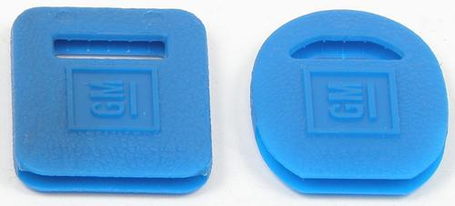 OEM Key Covers Ignition/Trunk (Blue)