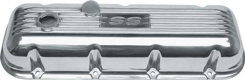 Chevrolet Big Block 3 Tall Polished Aluminum Finned SS Valve Covers