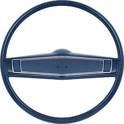 1969-70 Dark Blue Steering Wheel Kit With Dark Blue Shroud