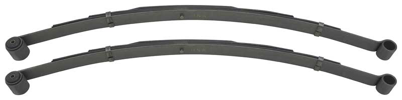 4 Leaf Rear Leaf Springs (Spring Rate 126 Lbs) - Assembly Line Correct - Made in USA