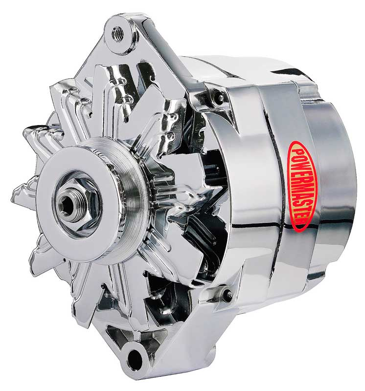 1973-88 GM - 100 Amp 1 Wire Chrome Alternator