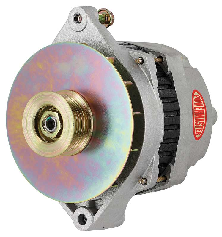 1973-94 GM - 200 Amp Performance Alternator with Internal Regulator - Natural Finish