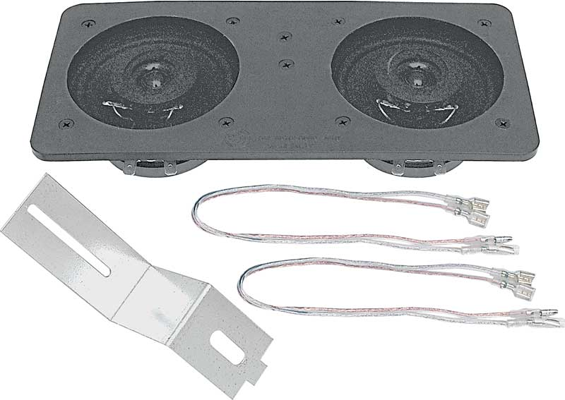 100 Watt 4 x 10 Dual Center Dash Mount Speaker